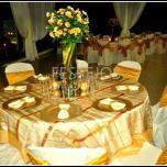 07 mesa dorado mantel festejos