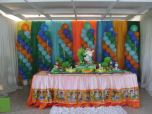 13 mesa bizcocho cumpleaños dora