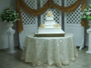 Boda blanco verde y dorado festejos 4