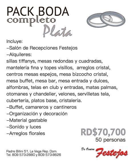 COMBO PACK FESTEJOS plata web