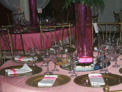 mesa rosa