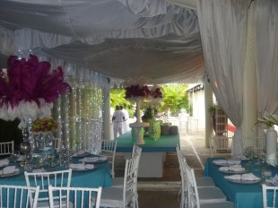 Fotos decoración de boda en Salón de Recepciones Festejos.