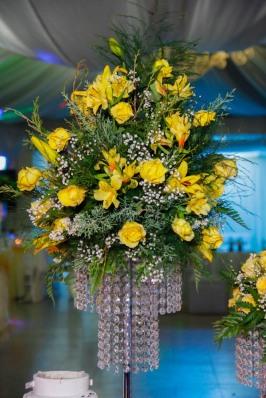 Arreglo florar centro mesas