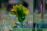 detalle flores amarillas